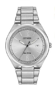 Citizen Men's Eco-Drive with stainless steel band