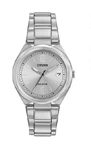 Citizen Women's Eco-Drive with stainless steel band