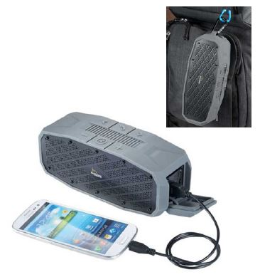 High Sierra® Lynx Outdoor Bluetooth Speaker/Charger