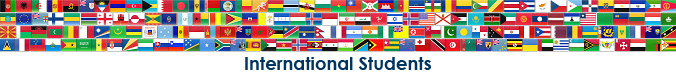 Country flags and International Students