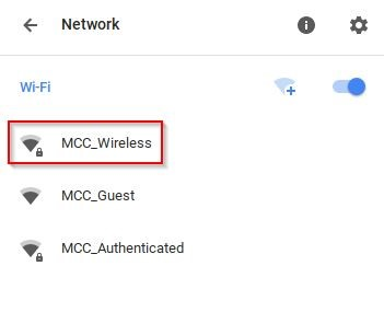 Chromebook Wireless click on MCC_Wireless image